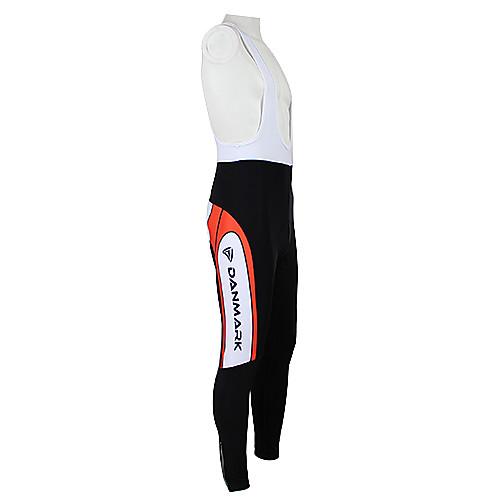 Kooplus2013 Чемпионат Дания Джерси эластичной ткани Полукомбинезон для Велоспорт Lightinthebox 2148.000
