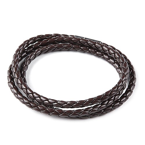 Мужская кожа PU плетеная веревка браслет наручные браслет-цепочка Lightinthebox 171.000