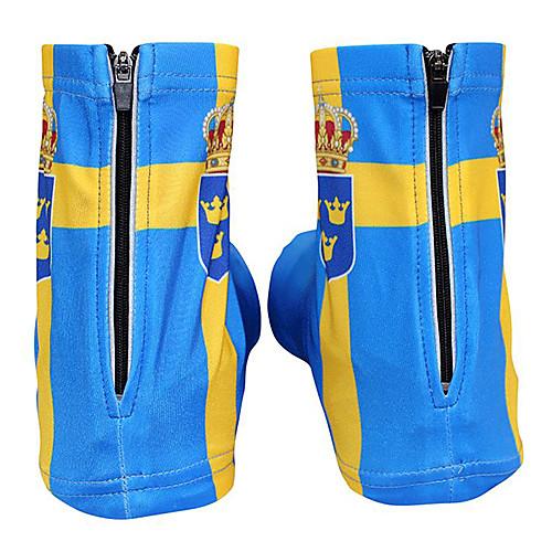 KOOPLUS - сборной Швеции полиэстер  лайкра желтый  синий Велоспорт обувь Обложка Lightinthebox 858.000