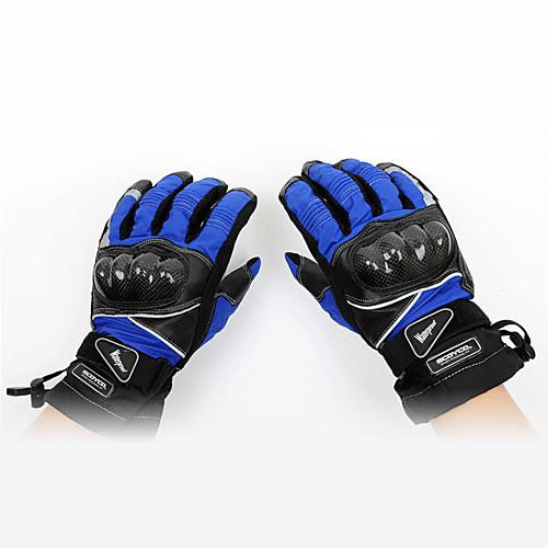 mc15b углеродного волокна материал, профессиональный гоночный мотоцикл водонепроницаемый сохранить теплые перчатки (опционально цвета) Lightinthebox 2405.000