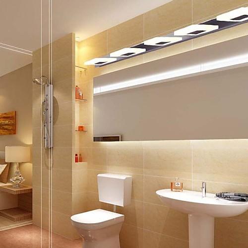 Светодиодный настенный светильник, 5 Свет, Modern Metal Arcylic гальванических Lightinthebox 7734.000