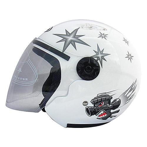 Moto Racing шлем VR-1 шлем мотоциклетный электрический велосипед половина шлем 02 (белый) Lightinthebox 1417.000