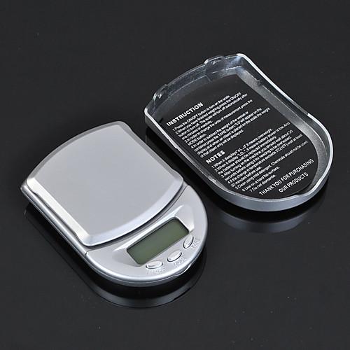 Портативный 0.01g/200g г / КТ / тонн / дп цифровой ювелирные Precision Алмаз грам взвешивания Карманные электронные весы Lightinthebox 300.000