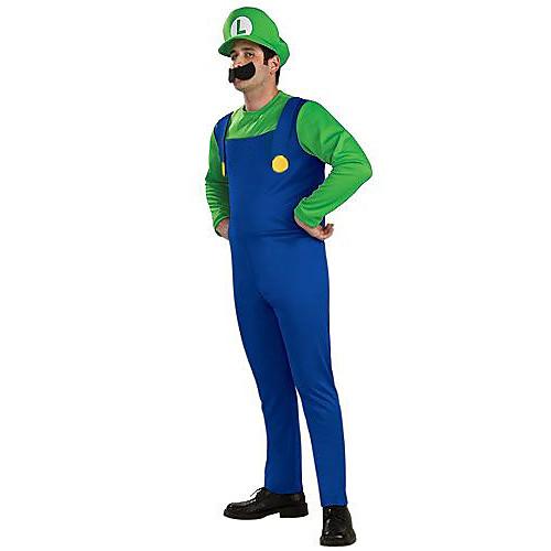 Super Mario Мужская Хеллоуин костюм с бородой Lightinthebox 1030.000