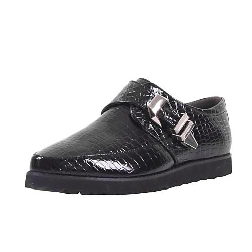 Кожаные мужские плоский каблук Комфорт Мокасины туфли с пряжкой Lightinthebox 1580.000