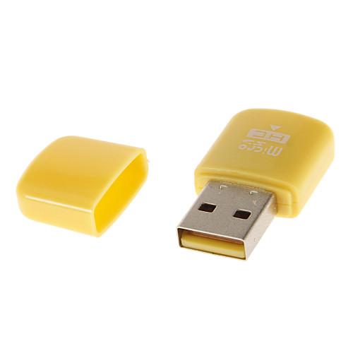USB-устройство считывания карт 2.0 Память (розовый / зеленый / синий / фиолетовый / желтый) Lightinthebox 33.000