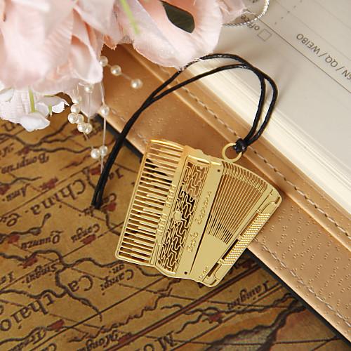 Золотой Аккордеон Закладка с Hide Rope Lightinthebox 46.000