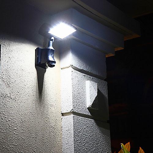 ИК датчик движения Солнечной светодиодные настенные светильники свет сада Lightinthebox 5585.000