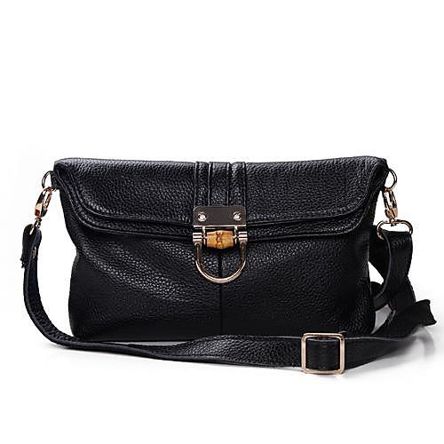 Женская Винтаж плеча Candy 100% натуральная кожа сумки Посланник