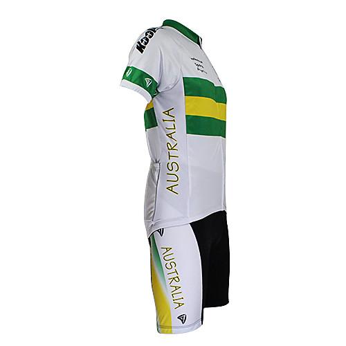 Kooplus2013 чемпионата Австралии Джерси полиэстер и лайкра и упругой Костюмы Велоспорт ткань (футболка  брюки) Lightinthebox 2362.000