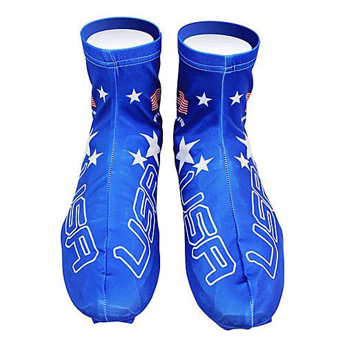 KOOPLUS - Американский национальный игрока полиэстер  лайкра Синий Велоспорт обувь Обложка Lightinthebox 858.000