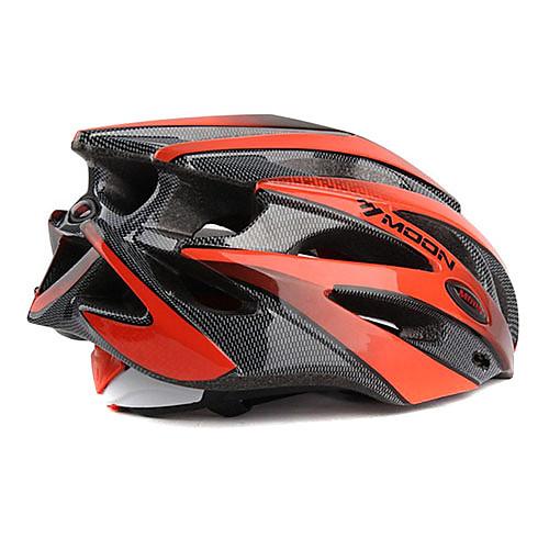 ЛУНА Велоспорт красный  черный PC  EPS 25 Вентс MTB защитный шлем Lightinthebox 1288.000