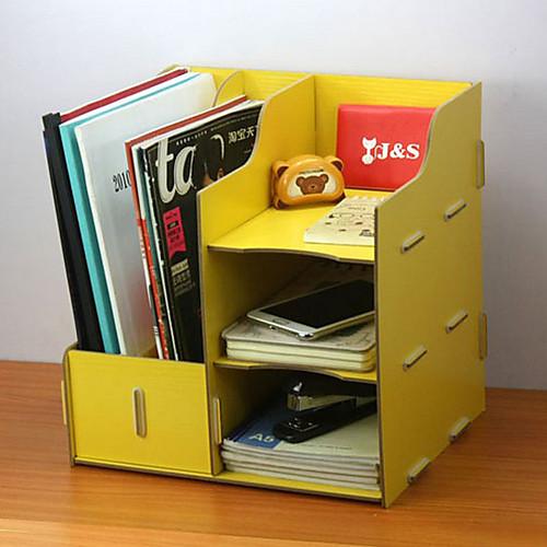 Современные Solid Color Деревянный рабочего Книжная Полка - 4 цвета Имеющийся Lightinthebox 1030.000