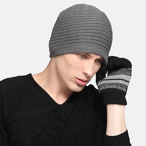 Зима трикотажные шапочки Lightinthebox 858.000