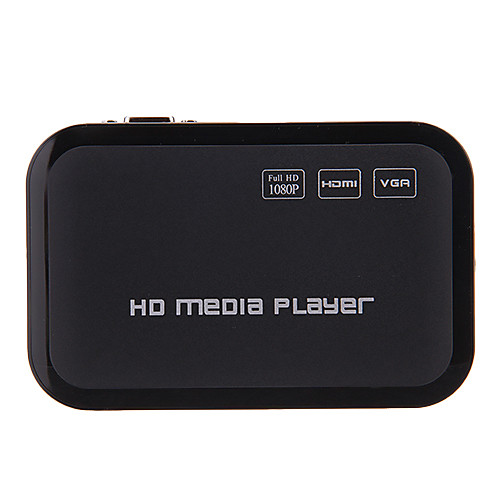 Мини 1080p Full HD Media Player HDMI / USB / SD / YPrPb / Av / VGA Lightinthebox 1630.000