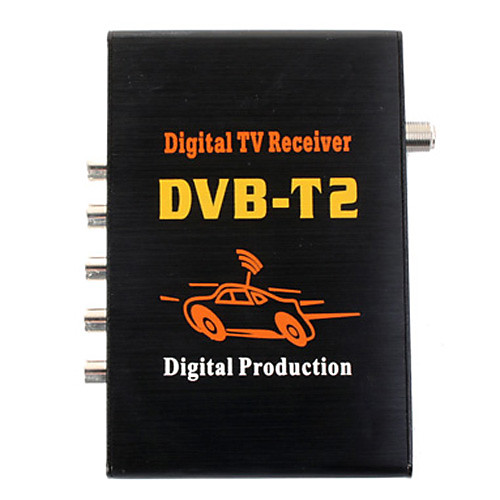 DVB-T2 DVB-T H264with MPEG-4 с MPEG-2 цифровой Full HD 1080p ТВ приемник с Lightinthebox 4124.000