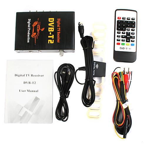 DVB-T2 DVB-T H264with MPEG-4 с MPEG-2 цифровой Full HD 1080p ТВ приемник с Lightinthebox 4124.000