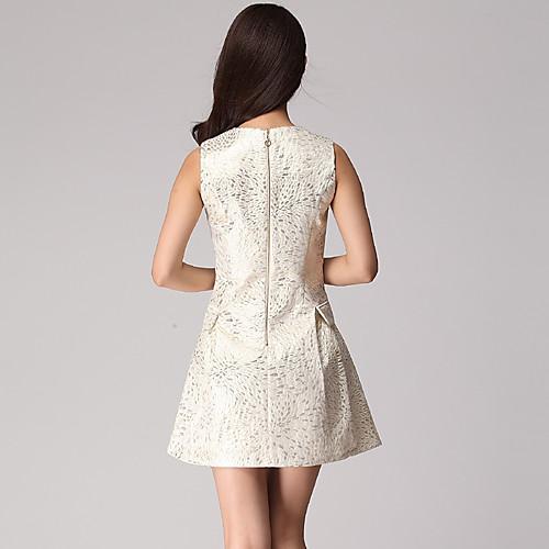 Луна воскресенье Женская Миндаль Высокое качество кружевном платье Lightinthebox 1245.000