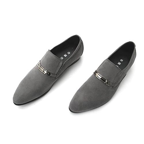 Замша Мужская плоский каблук комфорта Мокасины обувь (больше цветов) Lightinthebox 1488.000