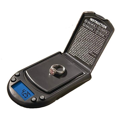 высокая точность мини электронные весы вес цифровой баланс (500, 0,01 г, 2x AAA) Lightinthebox 429.000