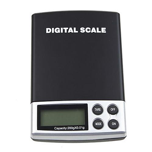 2 кг  0,1 г Цифровая шкала ЖК взвешивания весы карманные электронные весы 2000G D41N Lightinthebox 429.000
