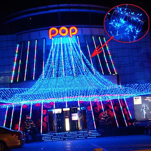 10M Открытый водонепроницаемый светодиодная вспышка света свет строк Свет Рождества