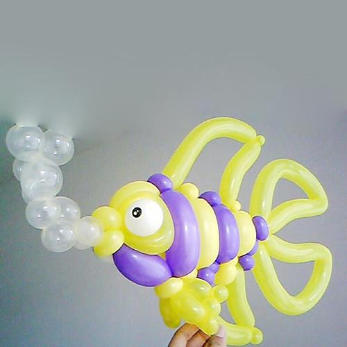 Резьба спиральная форма воздушный шар латекса - Набор 50 (Random Color) Lightinthebox 468.000