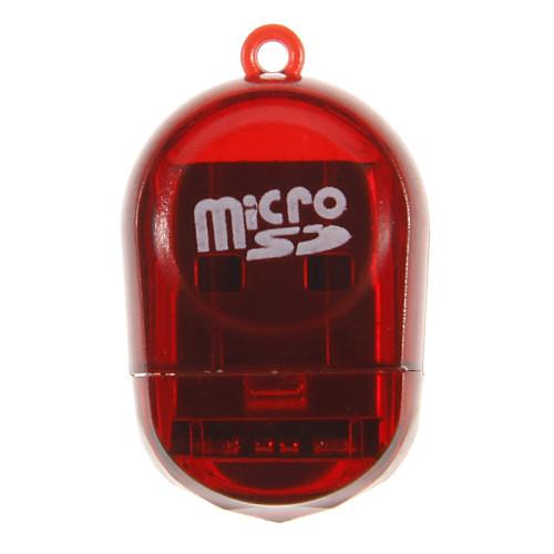 Mini Card памяти USB-ридер (Желтый / Красный) Lightinthebox 51.000
