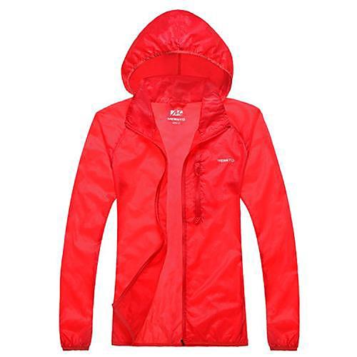 женская водонепроницаемый походы дождь куртка ультрафиолетового устойчивостью Lightinthebox 1288.000