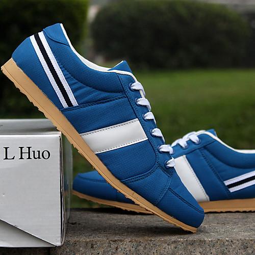 Холст Мужская плоский каблук Комфорт Мода кроссовки туфли с шнуровке (больше цветов) Lightinthebox 1288.000