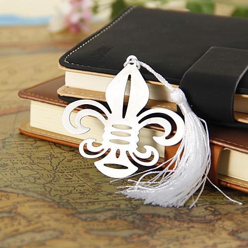 Серебряный цветок-де-Люс Закладка с кисточкой Lightinthebox 54.000