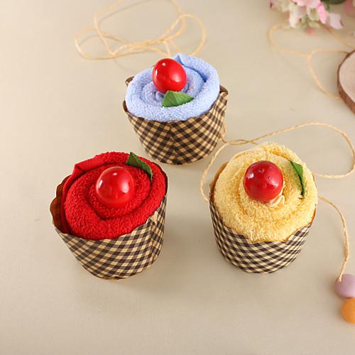 цилиндр торт торт в форме полотенце с персонализированной этикеткой-Набор из 6 (больше цветов) Lightinthebox 427.000