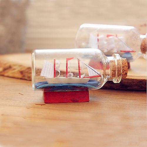 Стеклянная бутылка Кипсейк с маленький корабль внутри Lightinthebox 204.000
