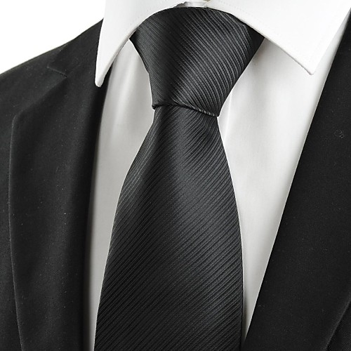 Мужской классический, полосатый галстук