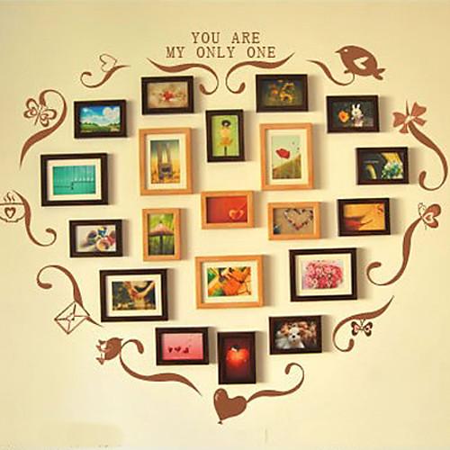 Классический Браун Фото Стена кадров Коллекция - Набор 20 случайный цвет Lightinthebox 4296.000