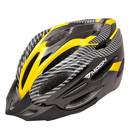 Луна Велоспорт ПВХ  EPS 22 Vents Super Light желтый  черный велосипед / шлем велосипеда Lightinthebox 730.000