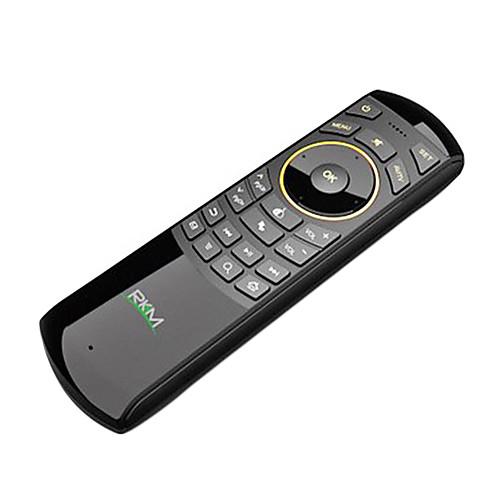 РКМ (rikomagic) MK705 Беспроводная 2.4GHz 44-клавишная Air Mouse Клавиатура ИК-пульт Lightinthebox 1288.000