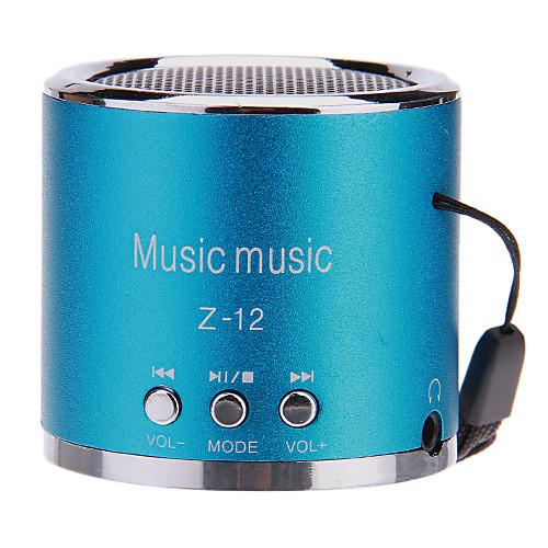 Мини Портативная акустическая новым углом MP3-плеер с FM-Z12 Функция Audio Поддержка TF карта & U диск USB слот Lightinthebox 558.000