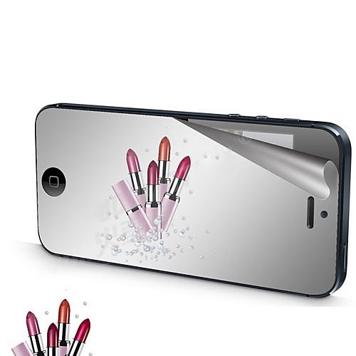 Зеркало Переплет Передняя и задняя экран протектор с Ткань для очистки для iPhone 5/5S Lightinthebox 257.000