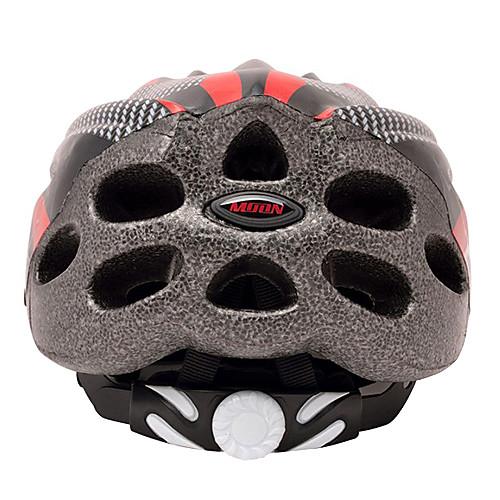 Луна Велоспорт ПВХ  EPS 22 Vents Super Light красный  черный велосипедов / велосипед шлем Lightinthebox 730.000