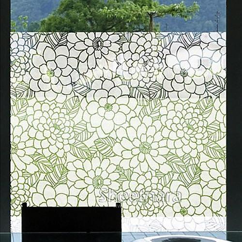 Sketched Линия Delineative Цветет оконная пленка Lightinthebox 3007.000