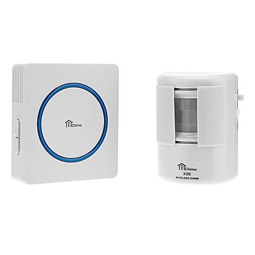Цифровая беспроводная Корпус датчика Intelligent Приветствие Предупреждение дверной звонок с 35 Melody Music / LED Light Lightinthebox 601.000