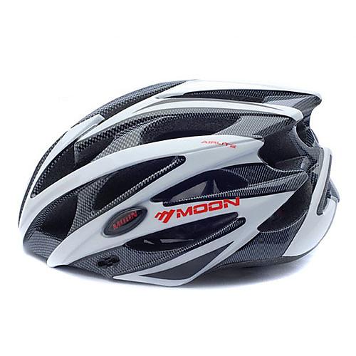 MOON Велоспорт шлем CE Сертификация Велоспорт 25 Вентиляционные клапаны Горные Half Shell Муж. Жен. Горные велосипеды Шоссейные от Lightinthebox.com INT