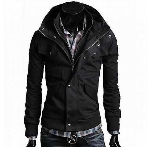 Мужская мода Динамический вскользь тонкой куртки Lightinthebox 1815.000