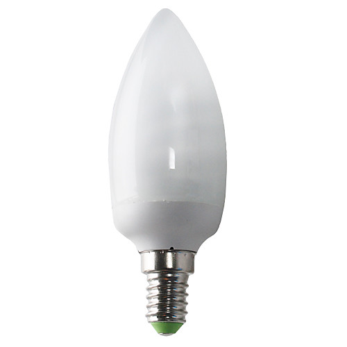 E14 8W 480LM 2700K CRI> 80 теплый белый свет CFL Свеча накаливания (220-240V) Lightinthebox 386.000