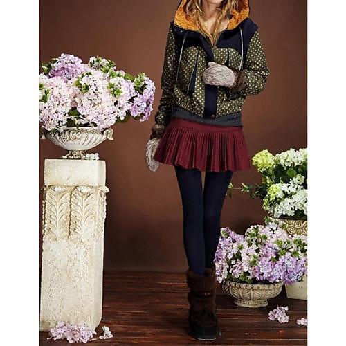 Женские Варежки толстые теплые трикотажные Искусственный мех перчатки Lightinthebox 386.000