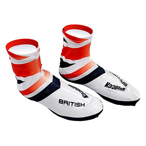 KOOPLUS - Британский Национальная сборная полиэстер  лайкра красный  белый Велоспорт обувь Обложка Lightinthebox 858.000