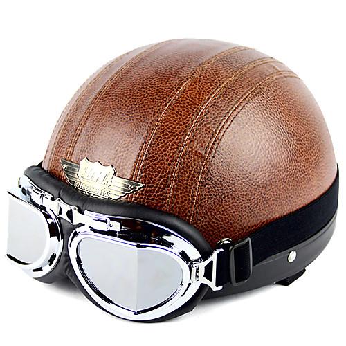 высококачественный мотоцикл половина шлем с таращить глаза Lightinthebox 1245.000