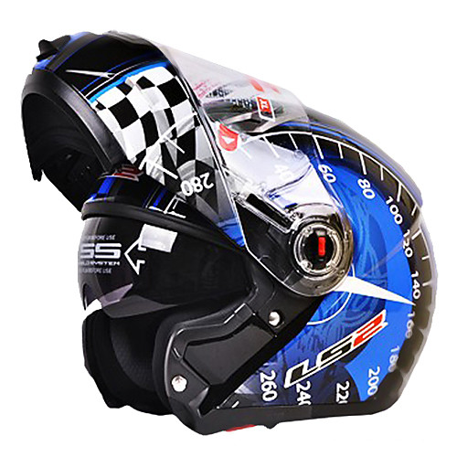 ff370-5 высококачественный разборная антибликовое мотогонок анфас открытое лицо шлем (опционные цветы) Lightinthebox 4726.000