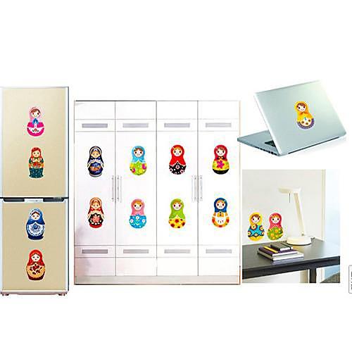 Шаблон российские Куклы Наклейки на стены Lightinthebox 386.000